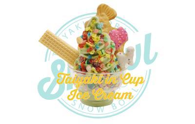Taiyaki In A Cup