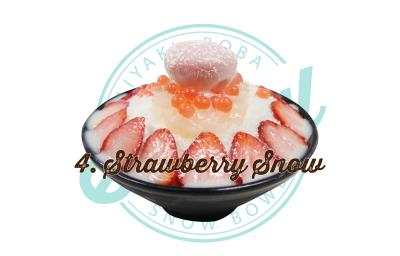 Strawberry Snow