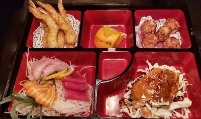 Dnnr - Seafood Bento