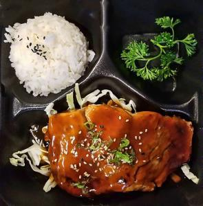Lunch - Salmon Teriyaki