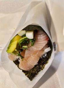Yellow Tail Hand Roll