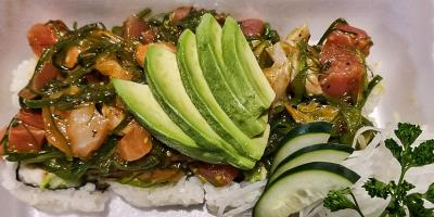 Spicy Poke Roll