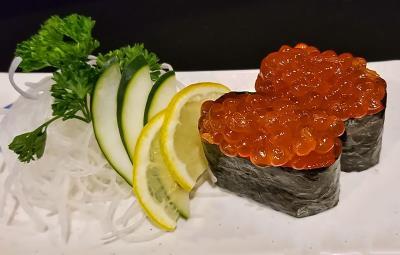 Salmon Roe (Ikura) - Sushi 2Pcs