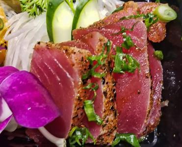 Cajun Tuna - Sashimi 4Pcs