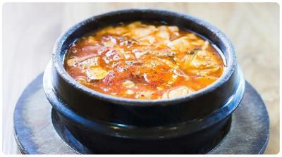 Beef & Seafood Tofu Stew