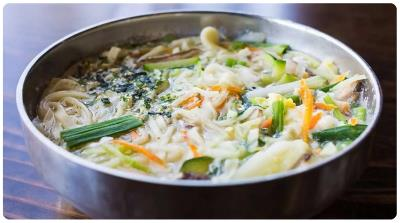 Korean Noodle Soup