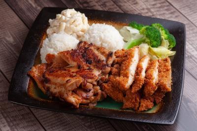 Bbq Chicken & Chicken Katsu