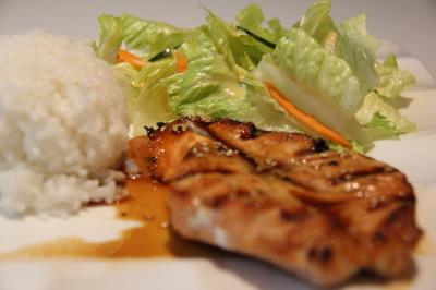 Salmon Teriyaki (L)