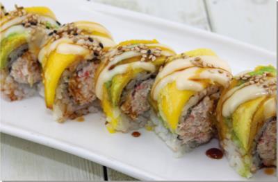 Sweet Mango Roll