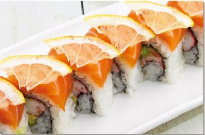 Zesty Salmon Roll