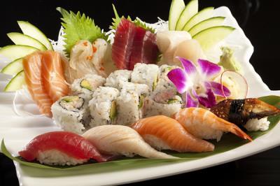 Sushi Sashimi Dinner