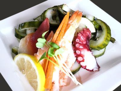 Seafood Cucumber Salad
