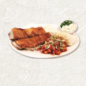 Pork Belly Wraps (Bo Ssam)