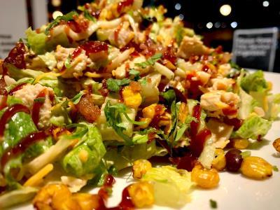 Southwest Bbq Chopped Chicken Salad