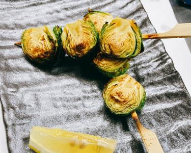 Brussel Sprouts Skewer