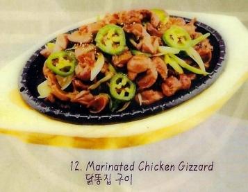 Marinated Chicken Gizzard
