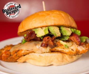Blackened Chicken Burger