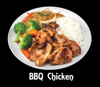 Bbq Chicken Meat Plat