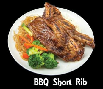Bbq Short Rib Meat Plate