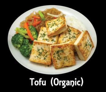 Bbq Tofu Meat Plate