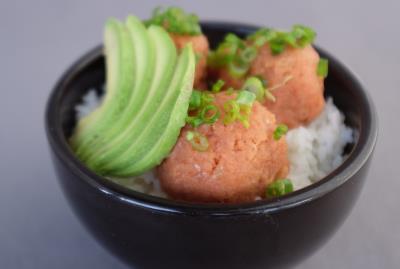 Spicy Tuna Don Rice Bowl