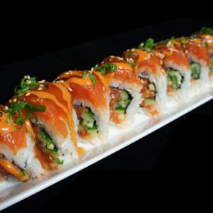 Double Spicy Salmon Roll