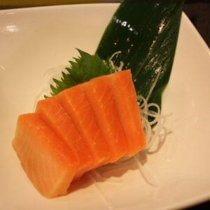 Smoked Sake Sashimi
