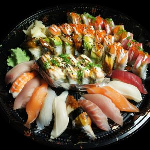 C. Sushi&roll Combo Set(68Pcs)