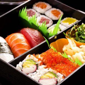 #3.chicken Teriyaki,tempura, Sashimi